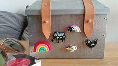 Solche Magnete  gibt's nur einmal und zwar bei mir :) Wie gefallen sie euch?