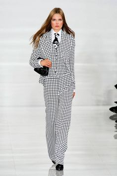 NYFW Spring 2014 Trends -Graphic Ralph Lauren Spring 2014 Ready-to-Wear Collection