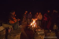 Winter Solstice Celebration, Hike & Camp Fire Sing-a-long, 2014 - www.devilslakewisconsin.com