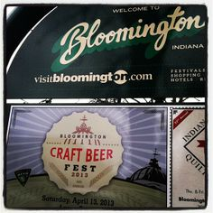 Bloomington Craft Beer Fest is on April 13.