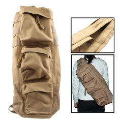 Army Military Utility USMC MOLLE Tactical Gear Nylon Oxford Backpack Go-Bag