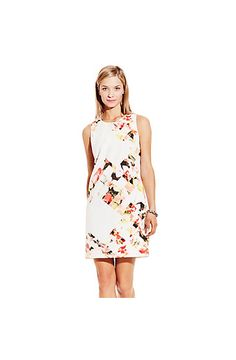Broken Photo Floral Shift Dress - Vince Camuto