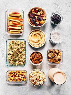 Sunday Meal Prep   Evergreen Kitchen   Vegan