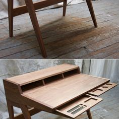There's at least one more Phloem Studio project I've got to draw your attention to, because I love the finished product and because Phloem designer/craftsman Ben Klebba has populated their blog with our favorite thing: Process photos and explanations.It's called the Laura Desk, and Klebba initially designed it for ShowPDX,...