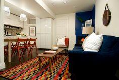 Colorful living room, Michael and Karen - Season 8 Income Property, Colourful Living Room, Production Company, Season 8, Hgtv, Colorful, Design, Home Decor, Decoration Home