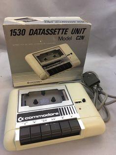 Commodore Computer Vintage 1530 Datasette Unit Model With Box Retro Toys, Vintage Toys, Old Technology, Old School Toys, Retro Office, Old Computers, Retro Video Games, Nostalgia, Retro Futuristic