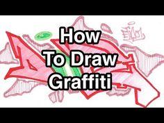 Step By Step How To Draw Graffiti Letters - Write Dope In Graffiti For Beginners… Graffiti Writing, Graffiti Lettering, Graffiti Art, Hand Lettering, Typography, Middle School Art Projects, Art School, Graffiti Tutorial, Art Prompts