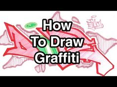 Step By Step How To Draw Graffiti Letters - Write Dope In Graffiti For Beginners…