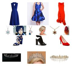 """""""Triplets Royal outfits"""" by galaxythetiger on Polyvore featuring Preen, Lab, Circus by Sam Edelman, Givenchy, WithChic, Cole Haan and Ultimate"""
