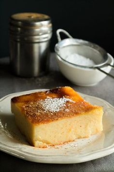 galatopita - milk pie #galatopita #milkpie #greekdessert #pie Greek Sweets, Greek Desserts, Greek Recipes, Sweets Recipes, Cake Recipes, Cooking Recipes, Yummy Recipes, Recipies, Pia Recipe