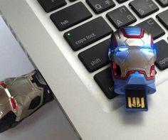 Clé usb Iron man