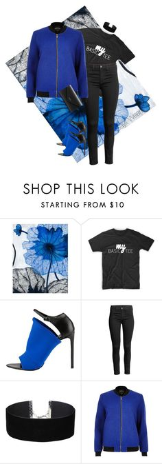 """Black & Blue"" by sayitwearit on Polyvore featuring Grandin Road, Balenciaga, Miss Selfridge and River Island"