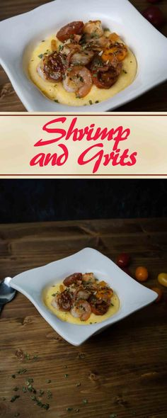Shrimp and Grits from apartmentcookery.com #southern #shrimp #grits