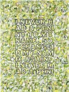 ART BLOG ART BLOG: Untitled Joke Painting, 2009, Richard Prince