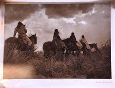 Edward S. Curtis - the storm - Apache - 1906