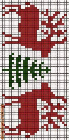 Projects Christmas Learn how to tie your own friendship bracelets! _____ _____ _____ _____ _____ _____ _____ Friendship bracelet pattern 11895 by Racoon Christmas Embroidery, Christmas Knitting, Christmas Cross, Xmas, Christmas Deer, Cross Stitch Charts, Cross Stitch Designs, Cross Stitch Patterns, Crochet Chart