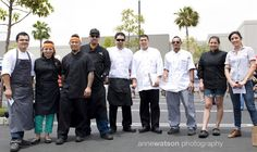 The Chefs from Taco Maria, Chomp Chomp Nation, Dos Chinos, Tamarindo Truck, Barcelona OntheGo & Seabirds Truck