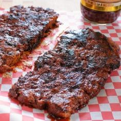 "Vegan Barbecue ""Ribs"""