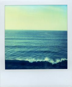 I dreamed of a photo taken with a polaroid camera but I could not actually see the camera. I just heard the sound of the polaroid and saw what it became. Beach Pictures, Cool Pictures, Polaroid Instax, Polaroid Cameras, Polaroid Pictures, Waves, Lomography, Film Photography, Wall Collage