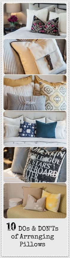 10 Do's & Don'ts of Arranging Pillows | Learn How to Display Your Pillows in an Inviting Way