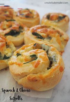 Easy Spinach and Cheese Scrolls Recipe, freezer friendly and both regular and Thermomix instructions included. Easy Spinach and Cheese Scrolls Recipe, freezer friendly and both regular and Thermomix instructions included. Snacks To Make, Easy Snacks, Food To Make, Brunch Recipes, Appetizer Recipes, Scrolls Recipe, Savory Pastry, Savoury Biscuits, Savoury Baking