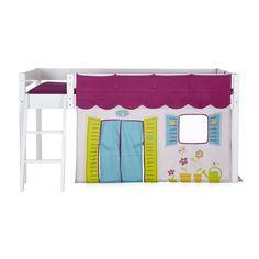 Lit mi-haut avec tente pirate Snow - Les meubles pour chambre ...