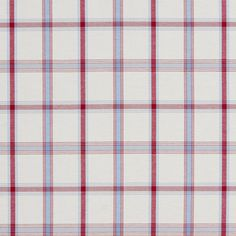The KC832 upholstery fabric by KOVI Fabrics features Plaid or Gingham, Small Scale pattern and Burgundy or Red or Rust, Blue Light, White or Off-White as its colors. It is a Denim or Duck or Twill type of upholstery fabric and it is made of 100% Cotton material. It is rated Exceeds 15,000 double rubs (heavy duty) which makes this upholstery fabric ideal for residential, commercial and hospitality upholstery projects. This upholstery fabric is 54 inches wide and is sold by the yard in 0.25…