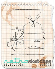 retro sketches : a challenge: retrosketches #241 - Extended...