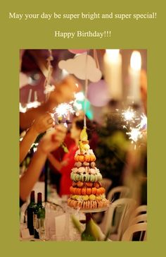 Birthday ecard with party image
