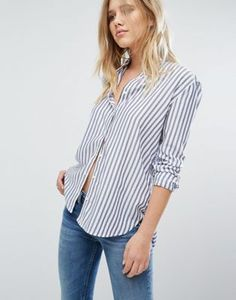 82311744c86 Hilfiger Denim Stripe Shirt Hilfiger Denim