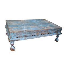 Temple Blue Table