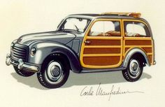 1954 Fiat 500c Belvedere