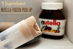 Nutella is one of my most favorite guilty pleasures. Aside from just eating it with a spoon from the jar, I like to try various recipes using it.