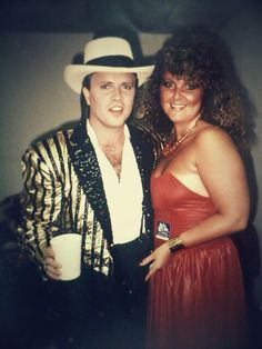 LOL** MARK MILLER AND ME AT SWISS VILLA IN THE EARLY 80'S ** WOW HAVE WE CHANGED**