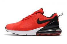 fb98ea8b16 Mens Nike Air Max 180 270 KPU Casual Sneakers University Red White Black  AH8060 660 Air