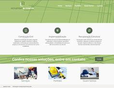 Criação de Site Institucional: Gonzaga & Costa Engenharia Goiânia