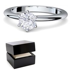 Orovi Damen Verlobungsring Gold Diamantring 9 Karat 375