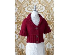 Short and Chic Cardi (Knit)