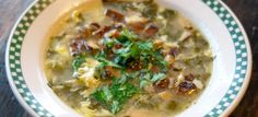"Lemon Spinach & Egg Soup or ""Paleo Stracciatella"" | Sustainable Dish"