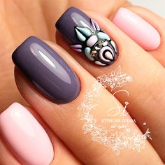Beautiful Square Nails Design Ideas Youll Want to Copy Immediately ★ See more: https://naildesignsjournal.com/square-nails-design-ideas/ #nails