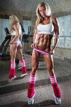 Daily Fitness Babes, via [Sexy Fitness Girls]