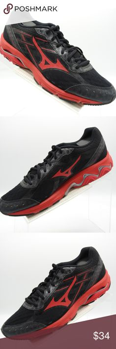 save off 90a3f 00bbe Mizuno Wave Unite 2 11GN148062 Size 10 Mens Shoes Mizuno Wave Unite 2  11GN148062 Size 10 M Black Red Mesh Baseball Mens Shoes Please note that  many of our ...