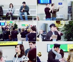 My absolute favorite lily and marshall moment <3 can someone bring me a band to pick me up at an airport........