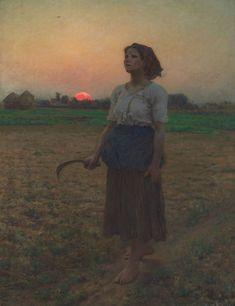 Le tableau français qui a (peut être) sauvé la vie de Bill Murray | Slate.fr I Jules Breton, Le chant de l'Alouette, 1884