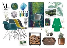 """""""The Mood Maker Taste of Teal & Greenery with Mineral Accents"""" by cielshopinteriors on Polyvore featuring interior, interiors, interior design, home, home decor, interior decorating, Ciel, Posh Totty Designs Interiors, Safavieh and Dot & Bo"""