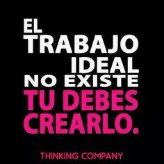 #motivacion de @ThinkingCompany un espacio #coworking en #sevilla