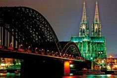 Building first began in 1248 on what eventually became one of the finest ecclesiastical edifices in the world and the epitome of high-Gothic cathedral architecture in its purest possible form. Cologne, Germany.