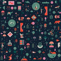 Creative Pattern, Lotta, Nieminen, Lagom, and Illustration image ideas & inspiration on Designspiration Typography Prints, Graphic Design Typography, Textures Patterns, Print Patterns, Lotta Nieminen, Lagom Design, I Love Mondays, Graphic Design Pattern, Painting Collage