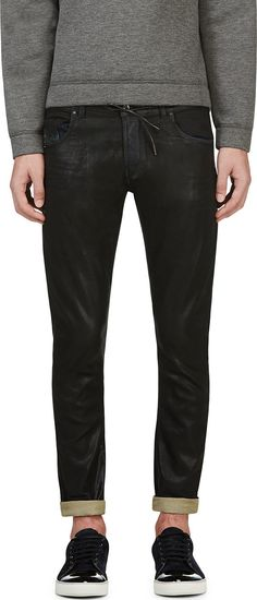 d57c10e058ff Diesel Black Gold - Black Coated Type-246 Jeans