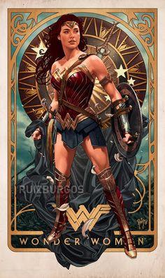 'Wonder Woman' by Ruiz Burgos